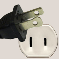 Sockets and plugs in Haiti