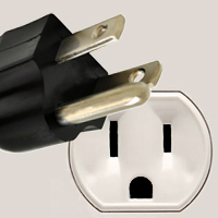 Sockets and plugs in Sint Maarten