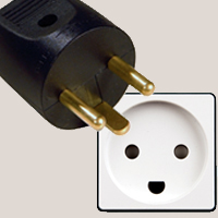 Sockets and plugs in Greenland