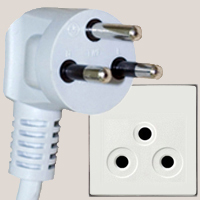 Sockets and plugs in Thailand