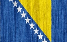 flag Bosnia and Herzegovina