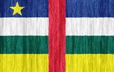flag Central African Republic
