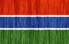 flag Gambia