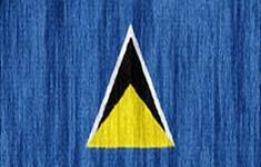 flag Saint-Lucia