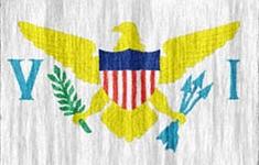 flag Virgin Islands USA