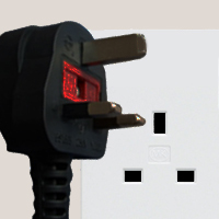 Sockets and plugs in Zambia