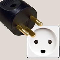 Sockets and plugs in Faroe Islands