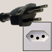 Sockets and plugs in Brazil